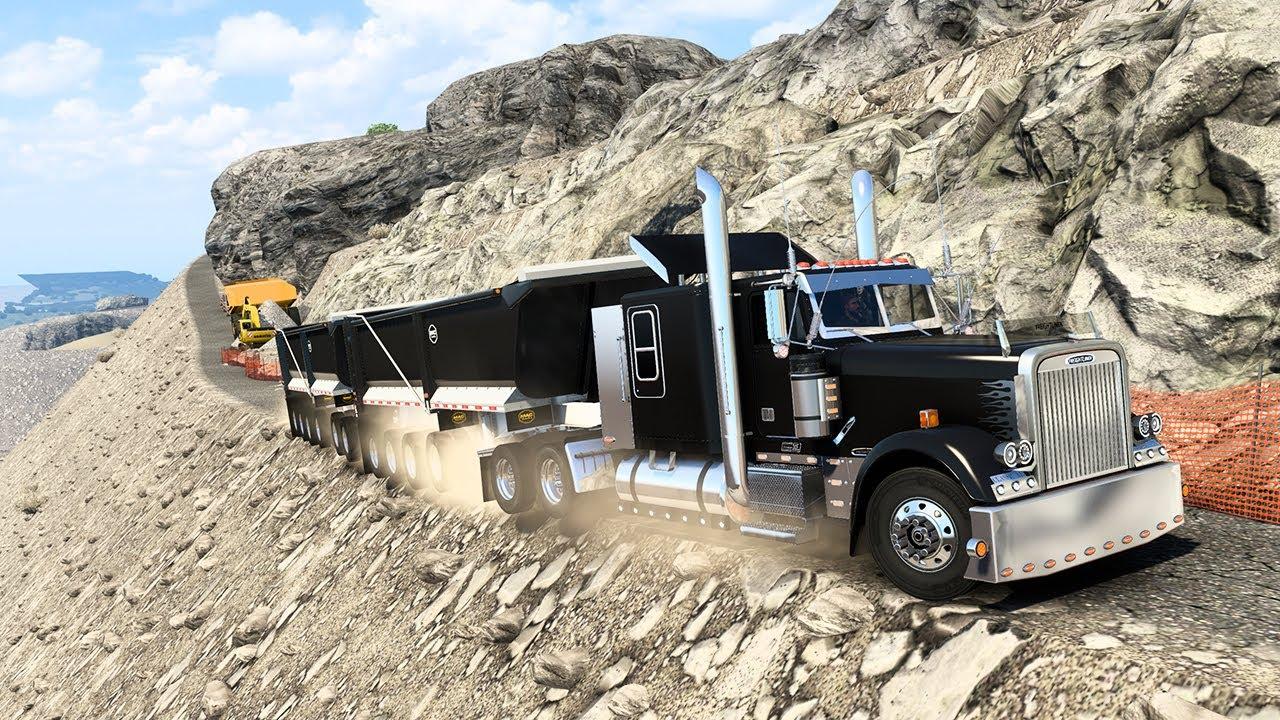 ALTA VELOCIDAD POR POCO NOS CAEMOS AL AVISMO Freightliner Classic XL, Detroit Diesel