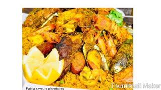 Paella bou ne mouuutttt de chef Saphie Keita