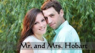 Allie & James Hobart - Reception Slideshow Presentation