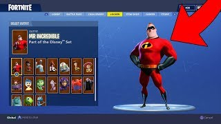 NEW DISNEY SKINS Coming to FORTNITE BATTLE ROYALE!?