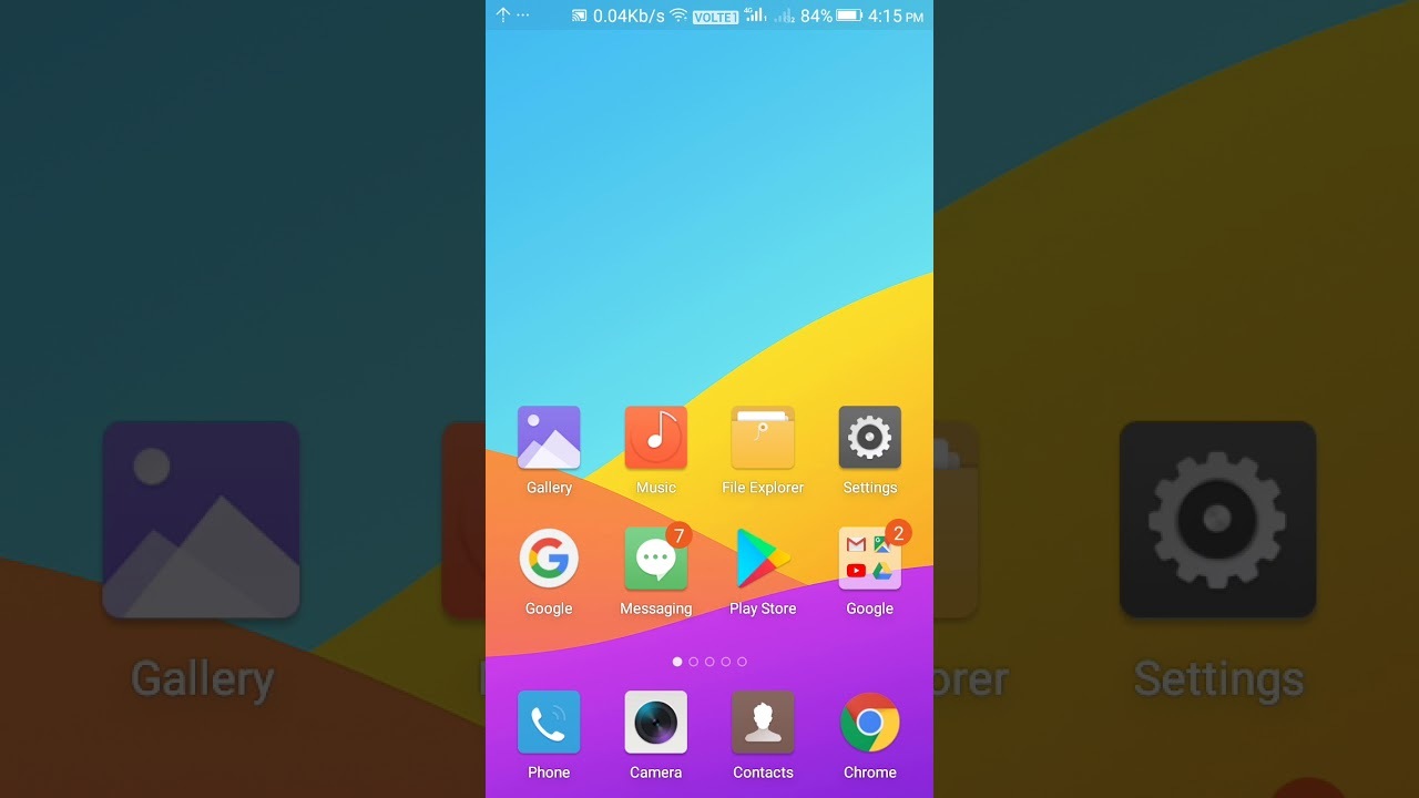 How to update your gionee F103 PRO phone