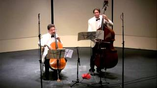 Rossini Duet for Cello and Bass, 3rd mvmt - CVCMF 2010
