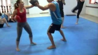 adrenalina muay thai treino feminino