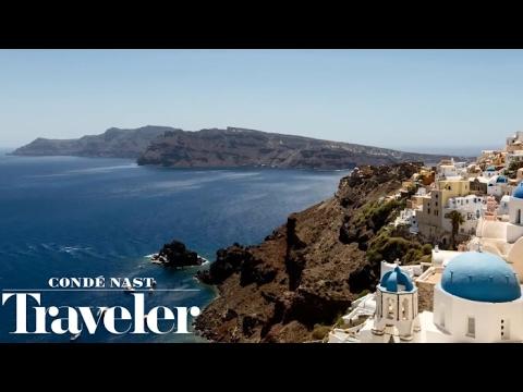 Summer in Santorini I Condé Nast Traveler