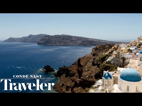 Summer in Santorini I Condé Nast Traveler