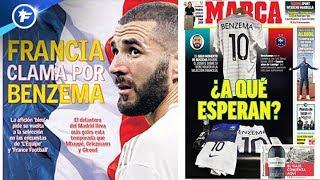 L'Espagne réclame Karim Benzema en Équipe de France | Revue de presse