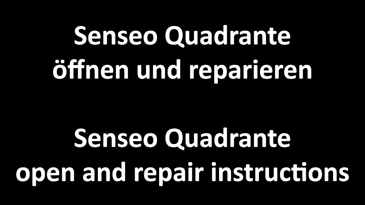 philips senseo quadrante open and repair instructions. Black Bedroom Furniture Sets. Home Design Ideas