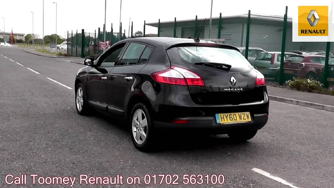 2010 Renault Megane Dynamique Tom Tom 1.6l Black HY60WZW ...