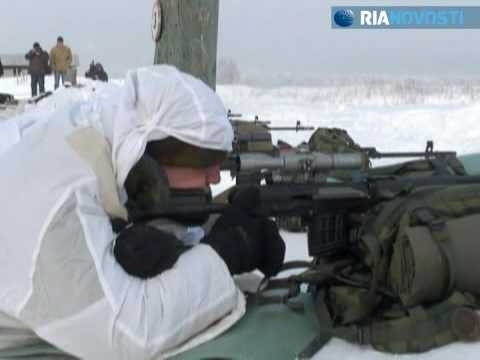 Professional snipers exercise near Moscow  Russian army in action  RIA Novosti news