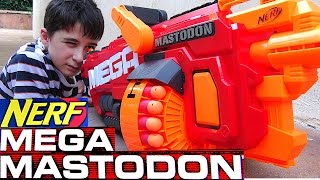 Nerf Mega Mastodon with Robert-Andre!