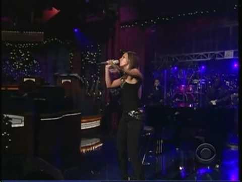 Alicia Keys Try Sleeping With A Broken Heart  Letterman