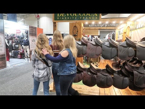 HIGH END SADDLE SHOPPING! WHICH ONE DID WE CHOOSE? Day  306 (11/09/19)