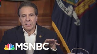 Cuomo Announces New York's Presidential Primary Is Delayed To June | MSNBC