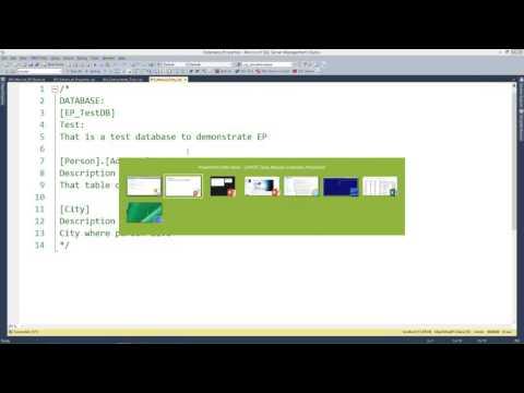 SQL Server Extended Properties как простейший способ докум