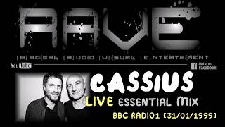 "CASSIUS LIVE ""ESSENTIAL MIX"" @ BBC RADIO1 [31 / 01 / 1999] HQ"
