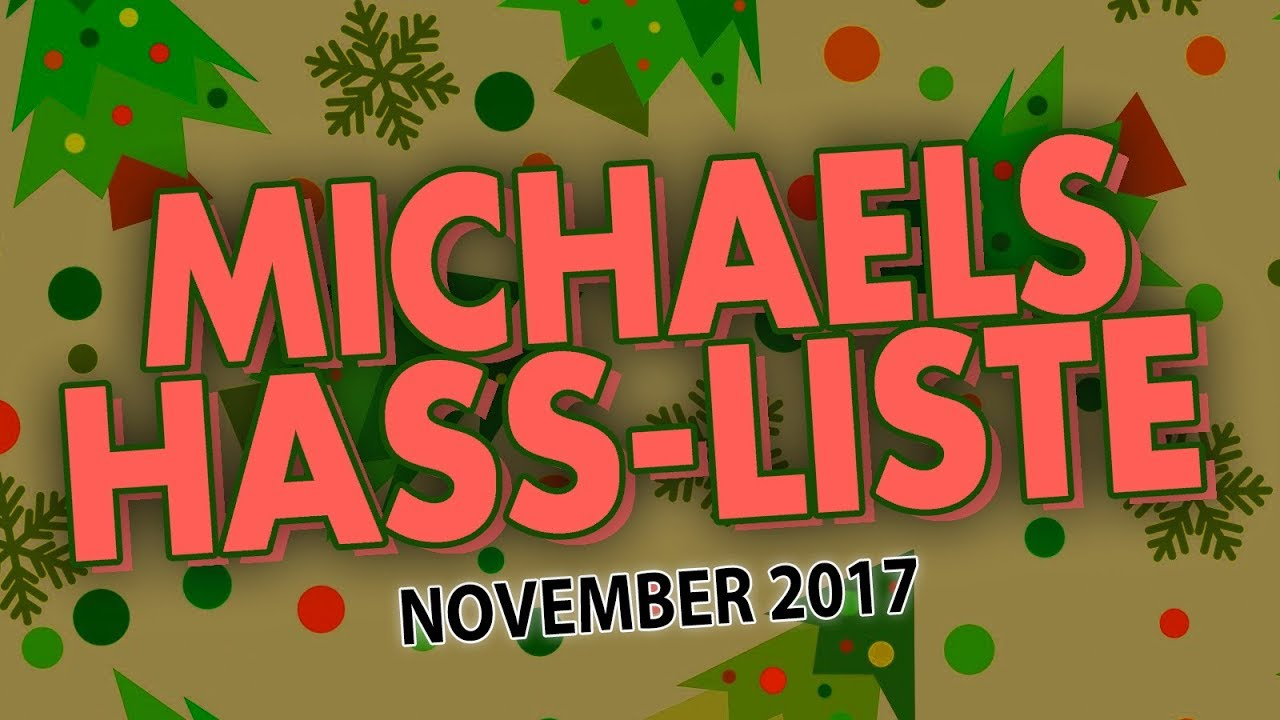 Warum ich Weihnachten HASSE! | Michaels Hass-Liste für den November ...