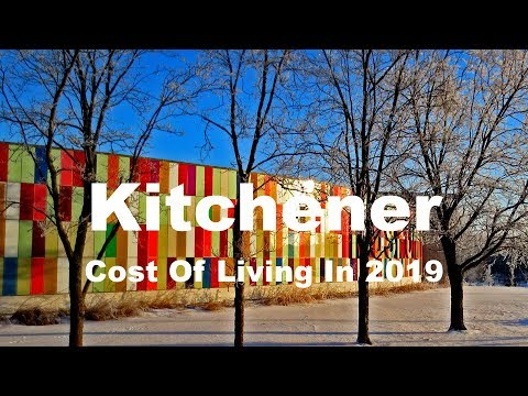 Cost Of Living In Kitchener, Canada In 2019, Rank 202nd In The World
