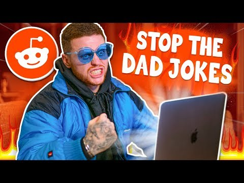 Reacting To The Best Dad Jokes