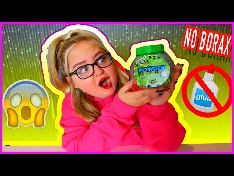 INSTANT POWDER SLIME! **NO GLUE OR BORAX**