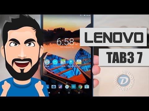 TABLET ou SMARTPHONE? Conheça o LENOVO TAB3 7 - UNBOXING