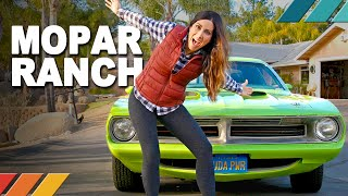 MOPAR RANCH: Unusual Classic Muscle Collection and...WWII Battleship?! | Nicole Johnson's Detour EP2