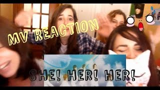 MV Reaction | Kis-My-Ft2  She! Her! Her!
