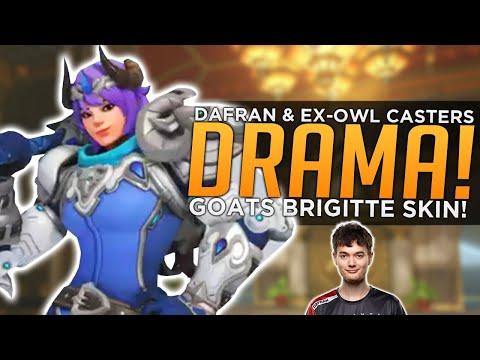 Overwatch: GOAT Brigitte SKIN! - Dafran & Ex-OWL Casters DRAMA!