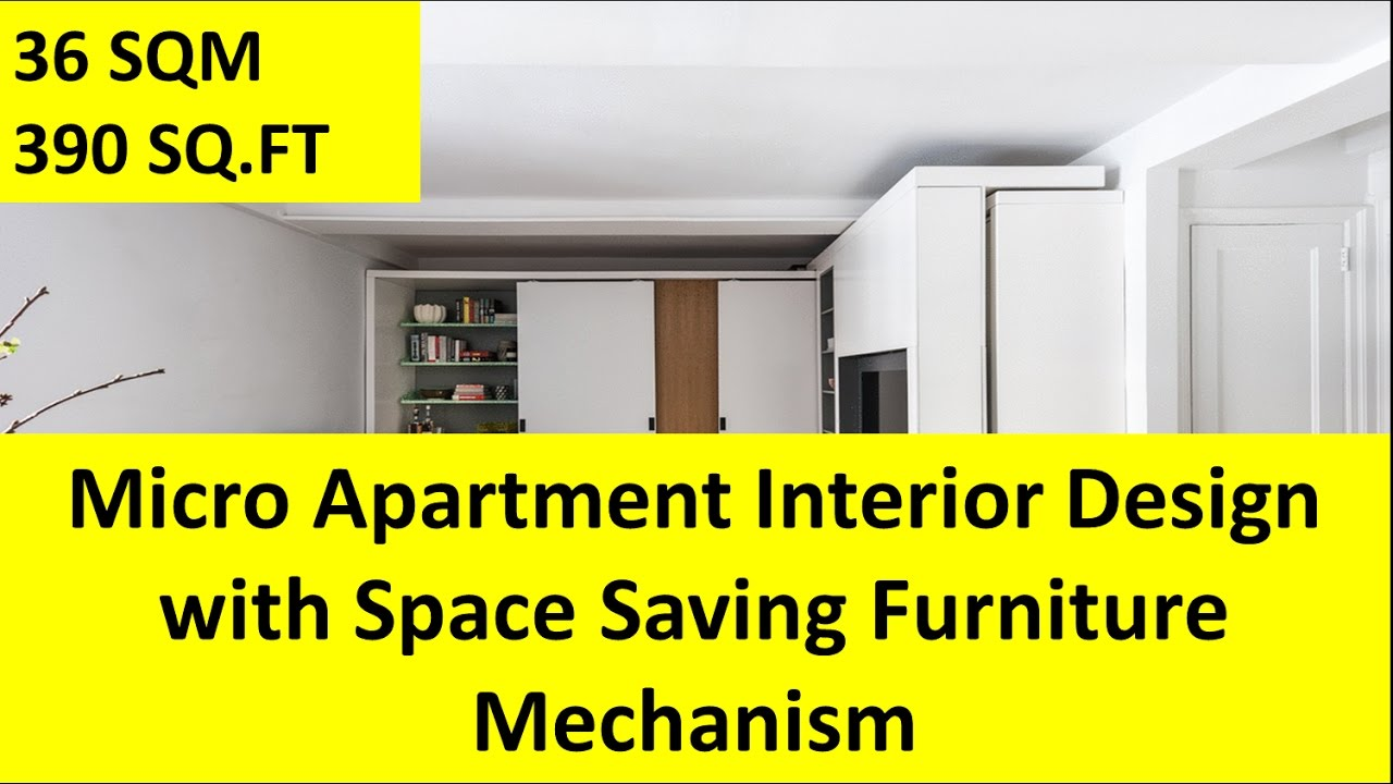 Micro Apartment Interior Design with Space Saving Furniture ...