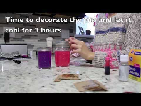 DIY How to make a Gel Air Freshener