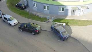 BMW вылетел с дороги в дом. Последствия ДТП Скрыганова, 26 14.10.19