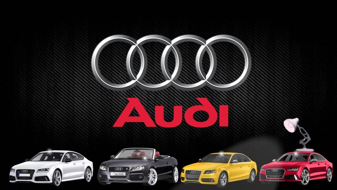 706 Audi Cars Logo Spoof Pixar Lamp Luxo Jr Logo Youtube