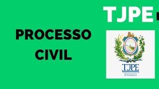 Aulão Direito Processual Civil + Pessoas com Deficiência p/ TJPE