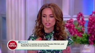 John McCain Diagnosed With Cancer | The View