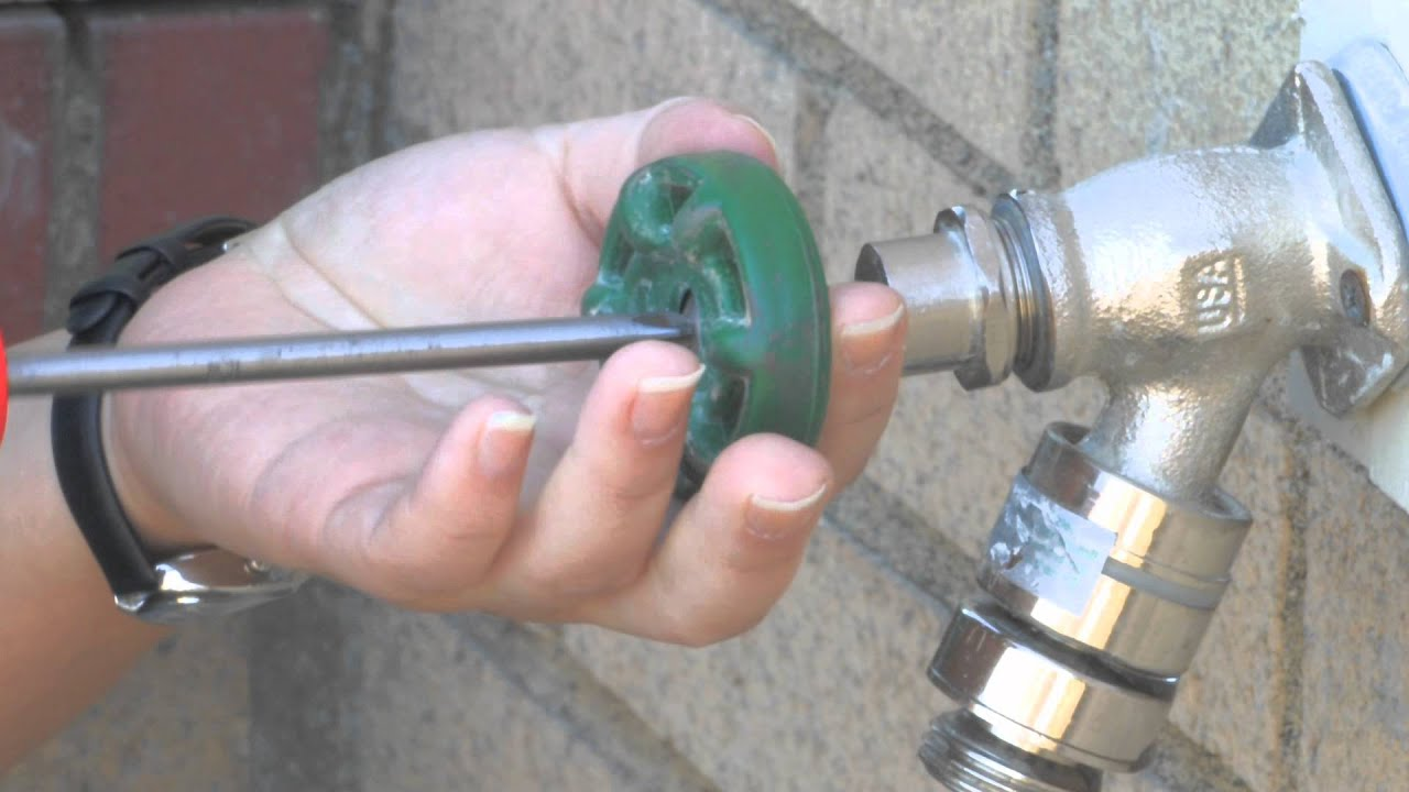 How to Fix a Leaky Outdoor Faucet  YouTube