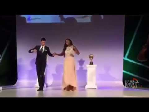 Novak Djokovic & Serena Williams - CHAMPIONS DANCE (2015)