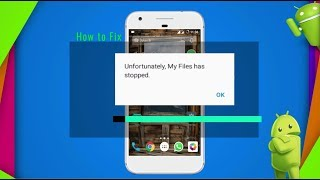 How to Fix Unfortunately my file has stopped Error 100% Working
