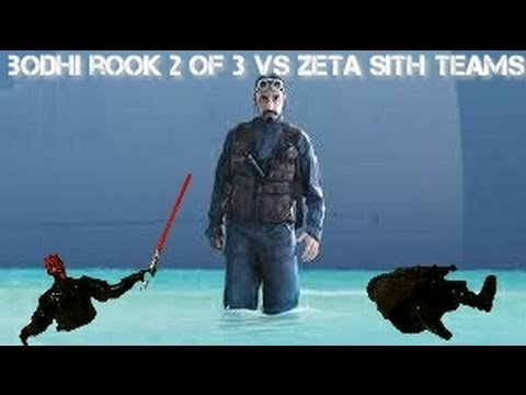 Bodhi Rook goes 2 out of 3 with Zeta Sith:  But is he Meta Defining ??  Star Wars Galaxy of Heroes