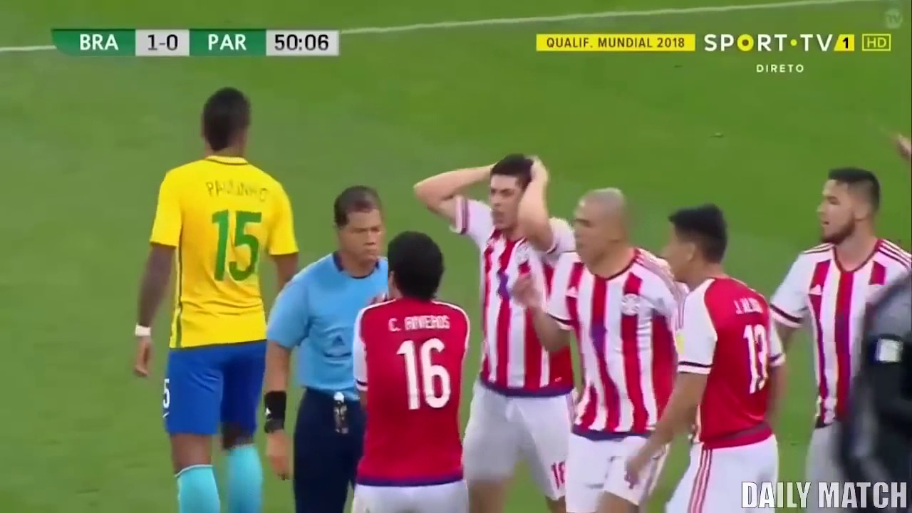 Download Brazil vs Paraguay 3 0   All Goals & Highlights   World Cup Qualifier 03 28 2017
