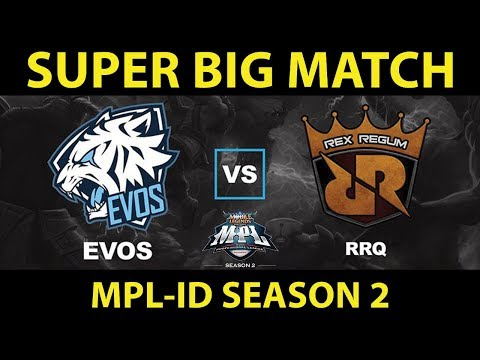 RRQ.O2 Vs EVOS ESPORTS | MPL-ID S2 Regular Season Minggu 2 Hari 2