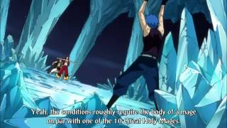 Fairy Tail Natsu vs Jellal sub english