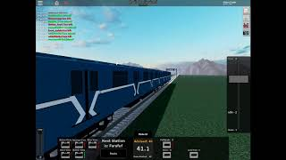 Roblox | 81-717 is departing at Westerstaad station