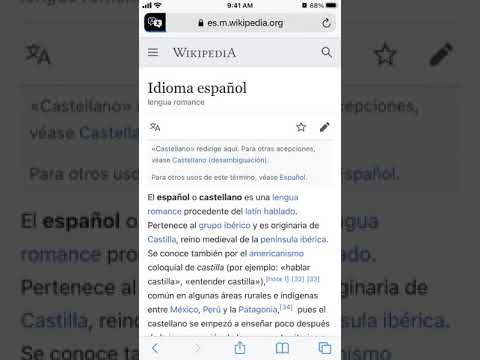 How to TRANSLATE SITE in SAFARI on iOS 14?