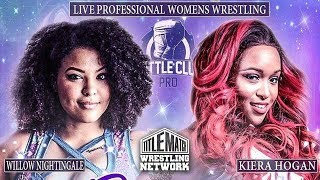 [FULL MATCH] Kiera Hogan vs Willow Nightingale - Battle Club Pro