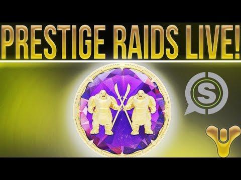 🔴LIVE! Destiny 2 Prestige Raids, SCUF Controller Giveaway (W/ WTFGameNation) & More!