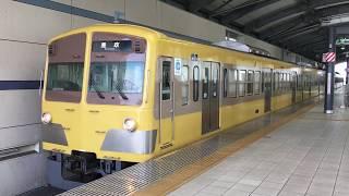 西武多摩川線 新101系 249F 旧塗装 武蔵境駅発車