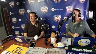 Dunc And Holder on Sports 1280 in New Orleans. February 15, 2018