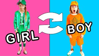 NAZ STYLES OUR MYSTERY CLOTHES BOX Challenge By The Norris Nuts