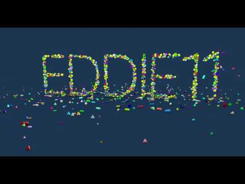 Animated TITLE using Cinema 4D dynamics, cloners, mograph & the variation shader