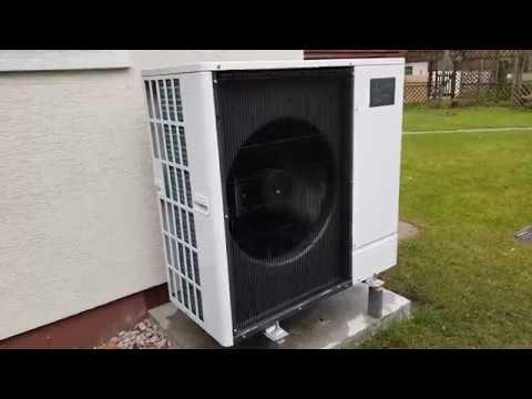 Pompa ciepła Mitsubishi Electric Zubadan PUHZ SHW80YAA praca