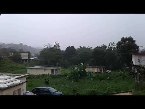 Huracan Irma Puerto Rico 2017 Moca Miercoles 6 de septiembre